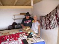 Susie and Joe Begay at Four Corners