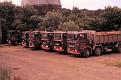 ERF B Series rigid 4, 6 & 8 wheeler tipper fleet 1980