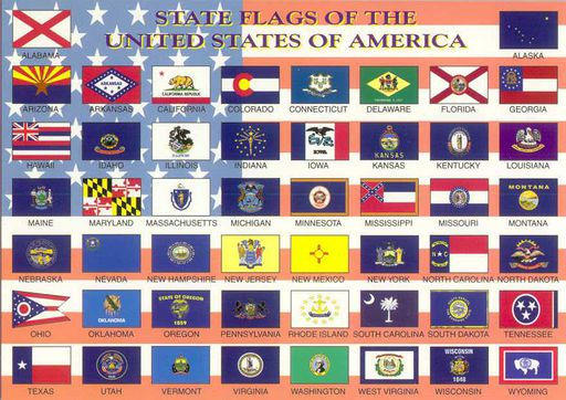 USA 02 STATE FLAGS