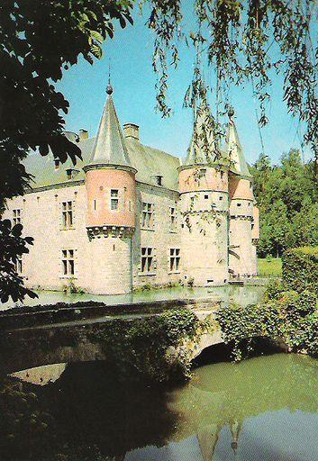 Belgium - SPONTIN SUR BOCQ CASTLE
