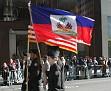 US & Haitian Flags.