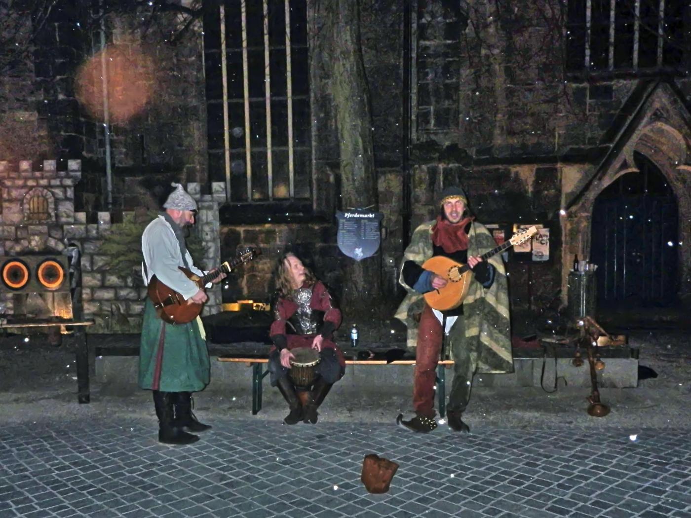 Musikanten auf dem Pferdemarkt