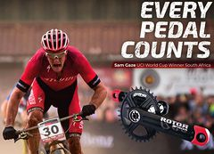 Every pedal counts
