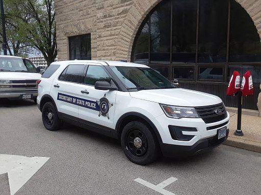 IL- IL Secretary of State Police 2017 Ford Explorer