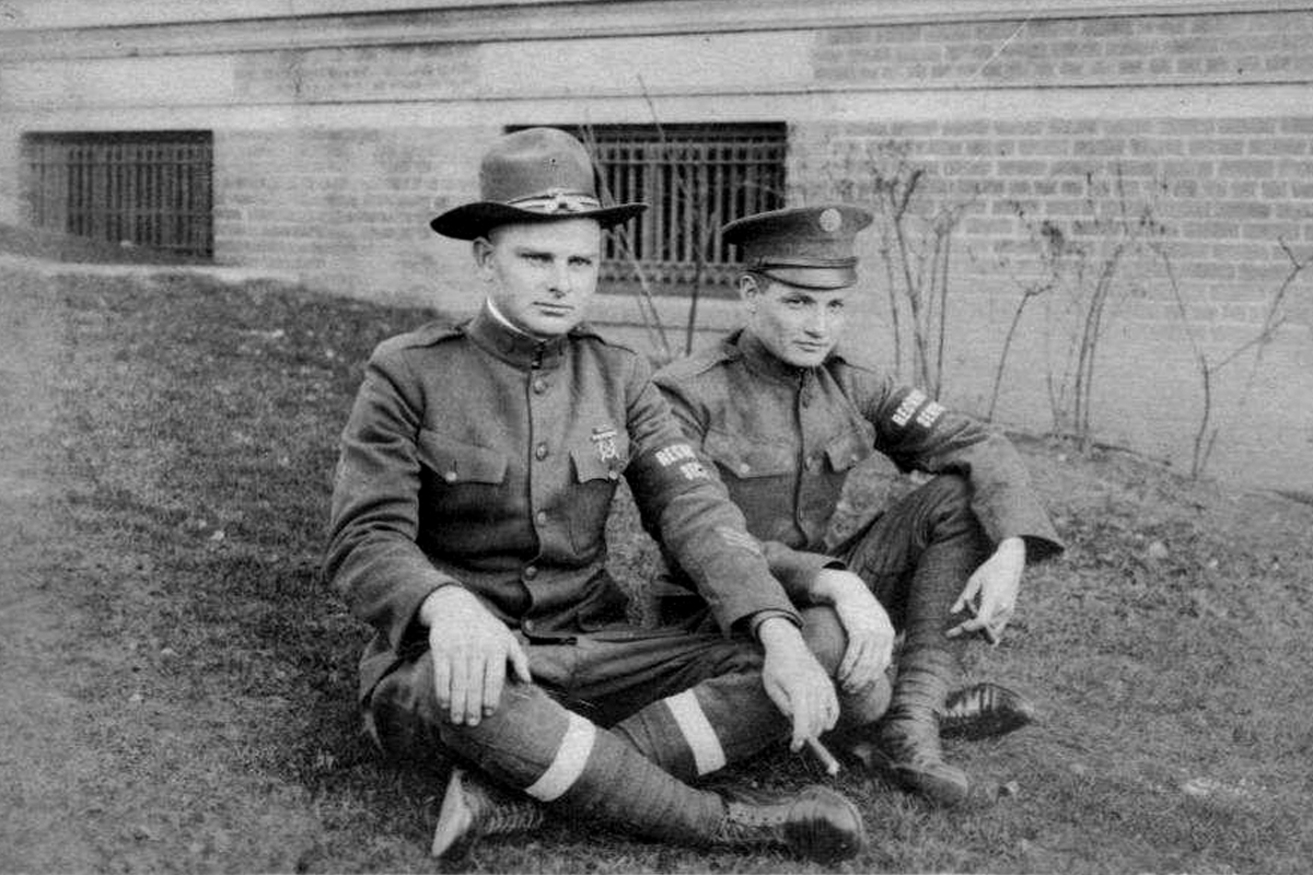 22-Carter Hutson on left, other man is unknown