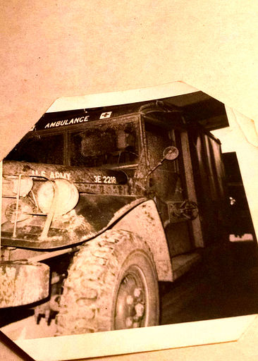 """#12-On the back of this picture, it's written """"My truck now, 3/4 ton."""""""
