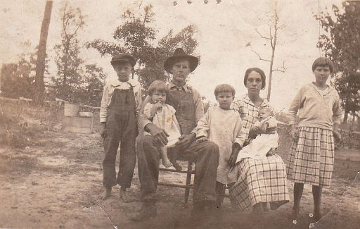 2-Barlow Anderson and 2nd wife, Mary Magdalene (FOUST) Anderson