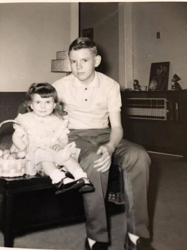 Quinton and Tammy Easter 1962