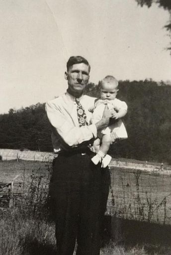 Uncle George Sharp and Wyvona