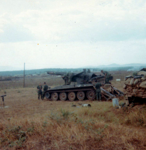 5-Beef-Up security on Perimeter at Artillery Hil 1968