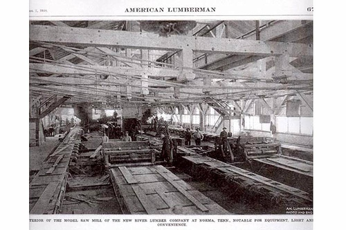 THE NEW RIVER LUMBER CO IN NORMA