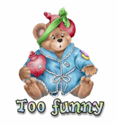 Too funny - BearGetWellSoon