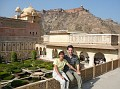 Us at Amber Fort