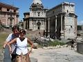 Us at Roman Forum