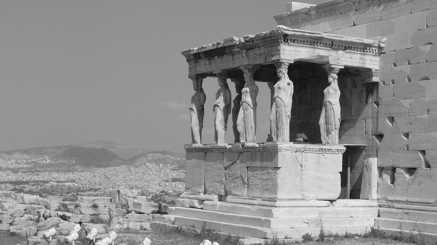 Erechtheion, Prostasis of Koryatides 421 - 405 BC