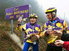 Den 104. Geburtstag auf einer Etappe der Tour de France gefeiert!