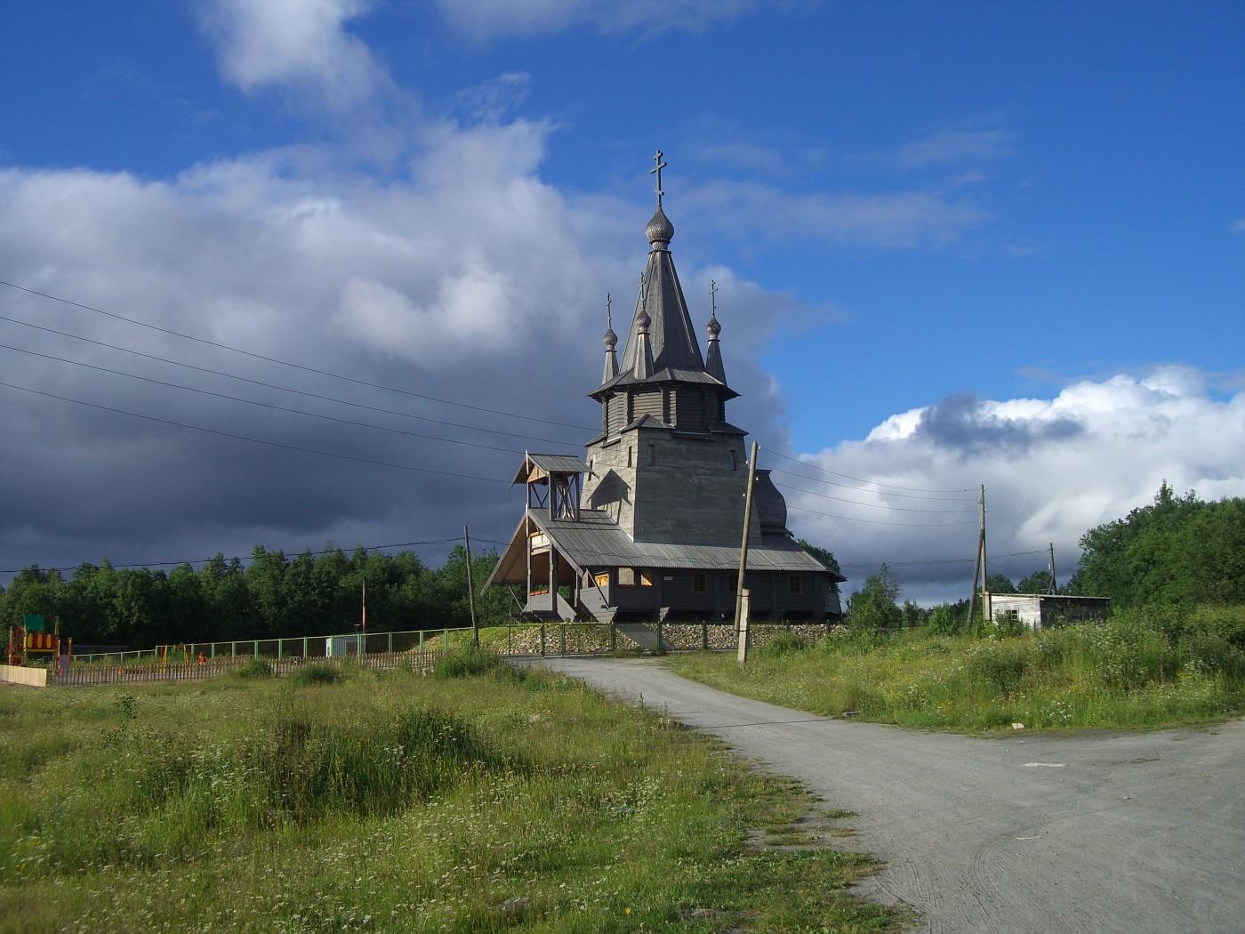 Holzkirche in Povenec