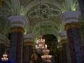 Moscow, Kremlin - Chandeliers inside the church