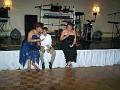 Mrs Yanick Martelly, Sophia Martelly with their nephew