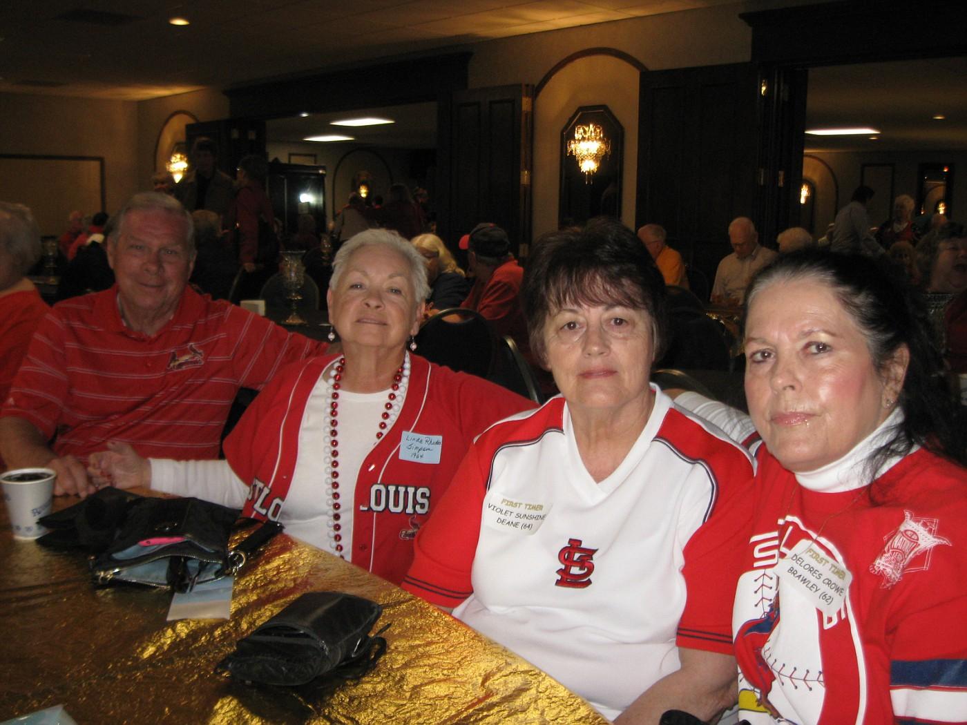 Kenney and Linda Simpson, Vi Deane, Delores Brawley