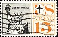 USA 1959-67 Statue of Liberty Air Mail