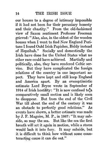 014 - THE IRISH ISSUE