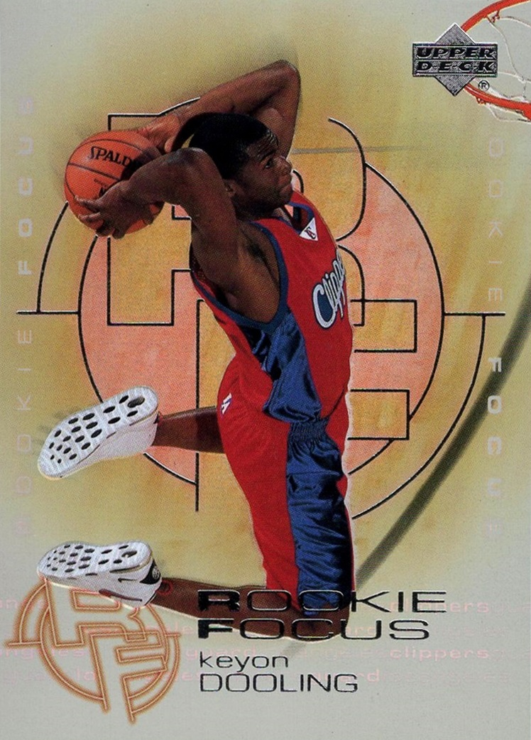 2000-01 Upper Deck Rookie Focus #RF03 (1)