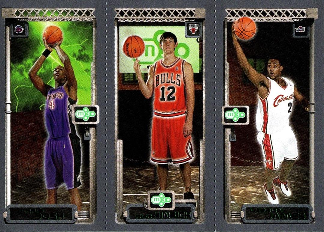 2003-04 Rookie Matrix #114-117-111 (1)