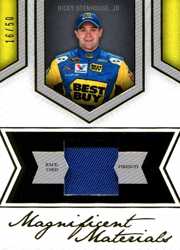 2013 Fanfare Magnificent Materials Gold Ricky Stenhouse Jr (1)