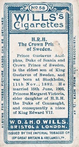 1908 Wills European Royalty #058 (2)
