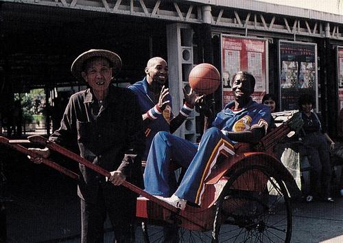 1992 Harlem Globetrotters #80 (1)