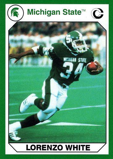 1990 Collegiate Collection Michigan State Promos #06 (1)