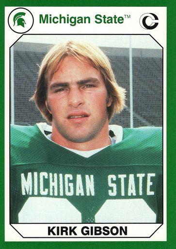 1990 Collegiate Collection Michigan State Promos #07 (1)