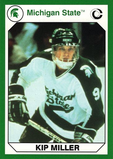 1990 Collegiate Collection Michigan State Promos #10 (1)