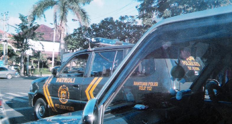 Bali - Kuta, Bali Police