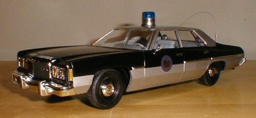 1975 Chevy Impala North Carolina Hwy Patrol