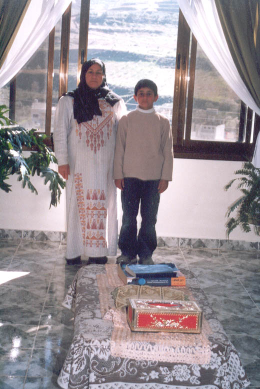 shahid's mother and brother