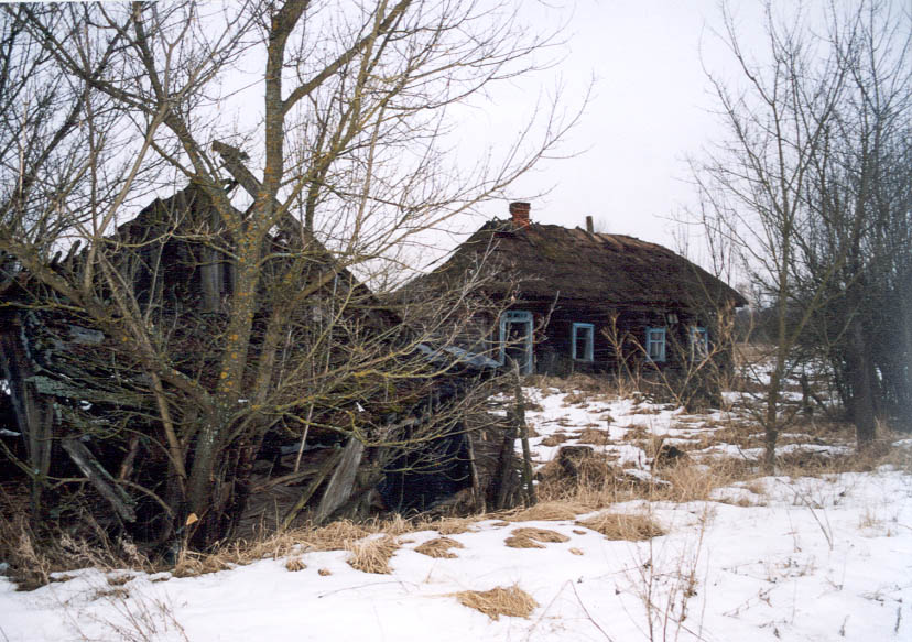 Villages at Chernobyl area
