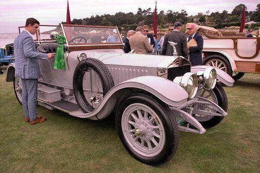 1913 Rolls-Royce Silver Ghost Barker Torpedo, Charles E  Nearburg, Dallas, Texas DSC 2346 -3