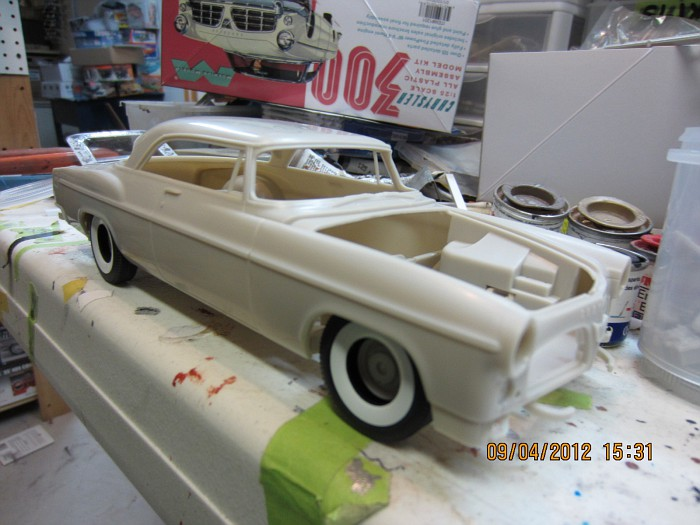 1955 Chrysler 300C, polissage, Bare-Metal!!!!! 003-vi