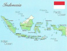 02- Map of Indonesia