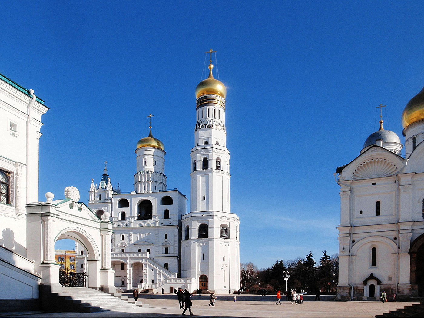 Ivan the Great Bell Tower with Assumption Belfry