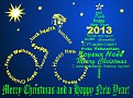Merry Christmas and a Happy New Year 2013!
