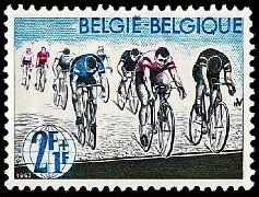 Racing bicyclists