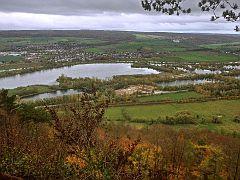Blick vom Brunsberg auf den Godelheimer See