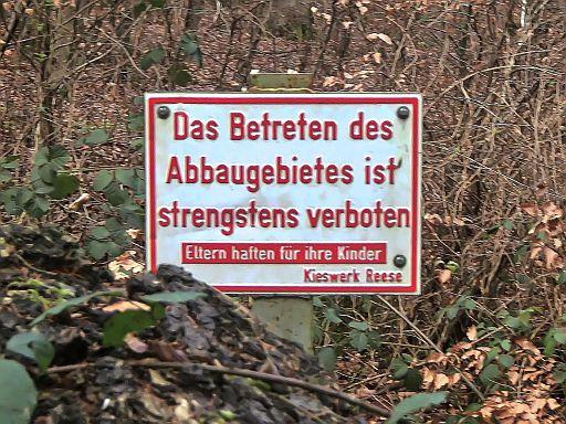 Strengstens verboten