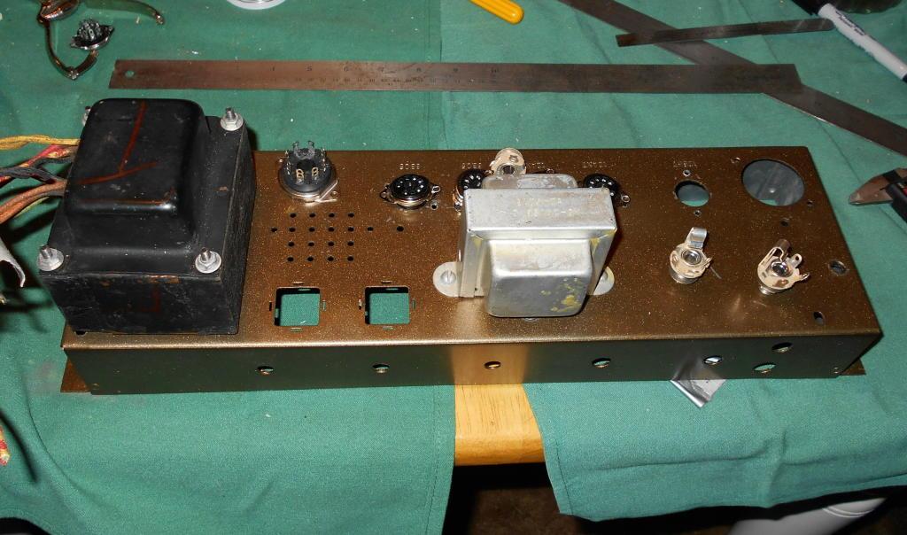 Hoffman 18 Watt Stout TMB in Hammond AO 43 Chassis | Squier