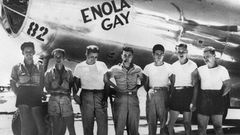 19 - The Enola Gay B-29 Bomber crew.