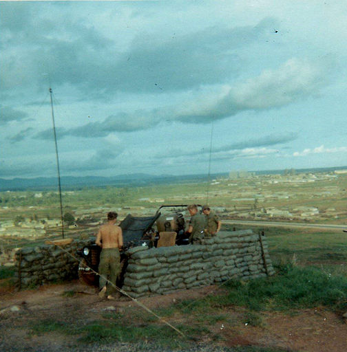 3-COMMO on top of Artillery Hill
