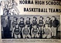 Norma HS Basket Ball Team - 1970 Boys Team